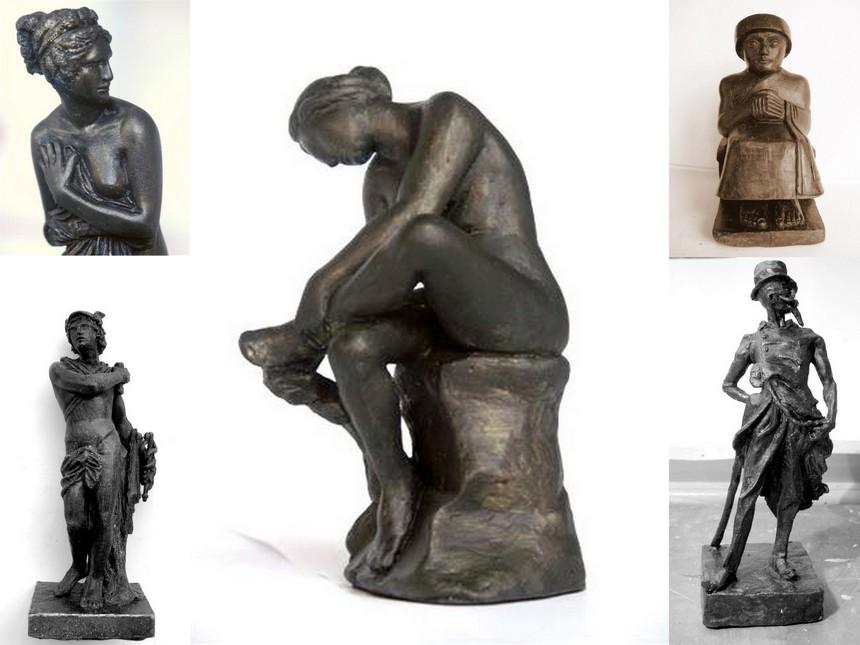 chefs d'oeuvres de la sculpture Atlas